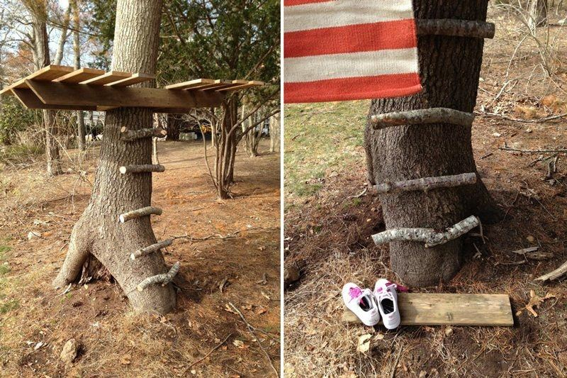 Hope Grandma can make this! My grandkids  need a tree house