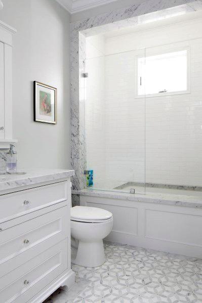 all white bathroom ideas