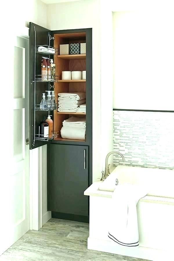 Full Size of Bathroom Narrow Bathroom Storage Tower Towel Shelf Ideas Bathroom Utility Cabinet Bathroom Corner