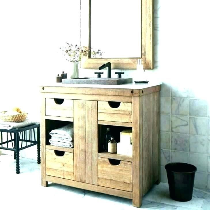 small bathroom table