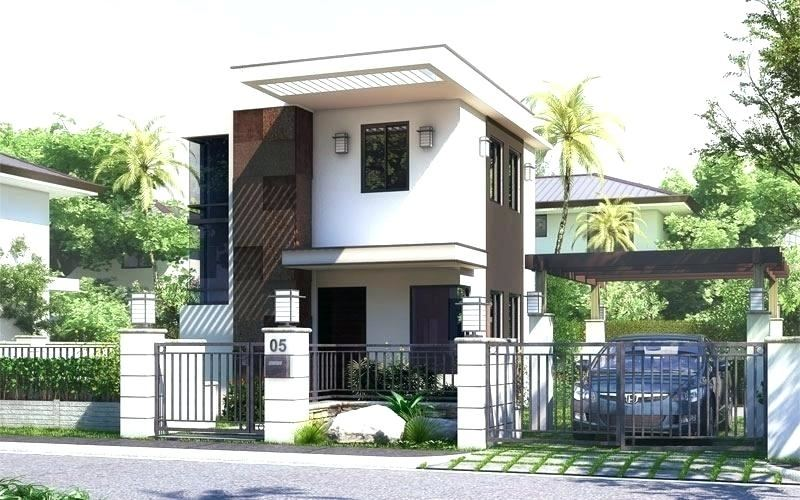3D house design front view House for JUN (Philippines)