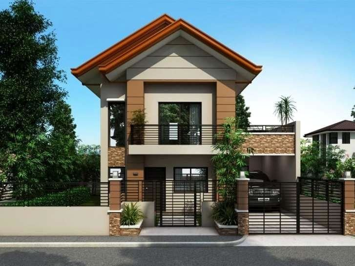 2 Story Small House Plans Designs