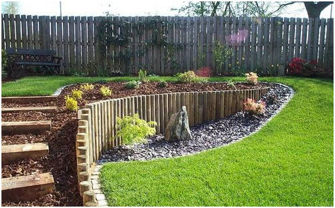 sloped backyard landscaping ideas pictures