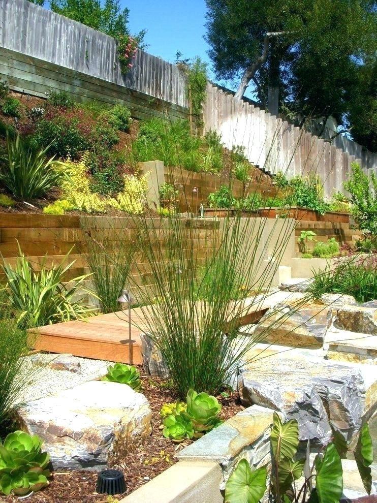 landscaping a sloped backyard landscape ideas slope design best about sloping  yard landscap