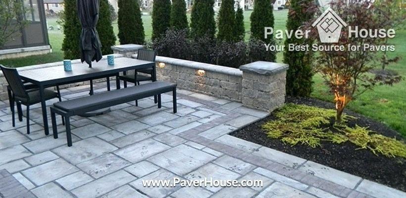 backyard stone ideas patio