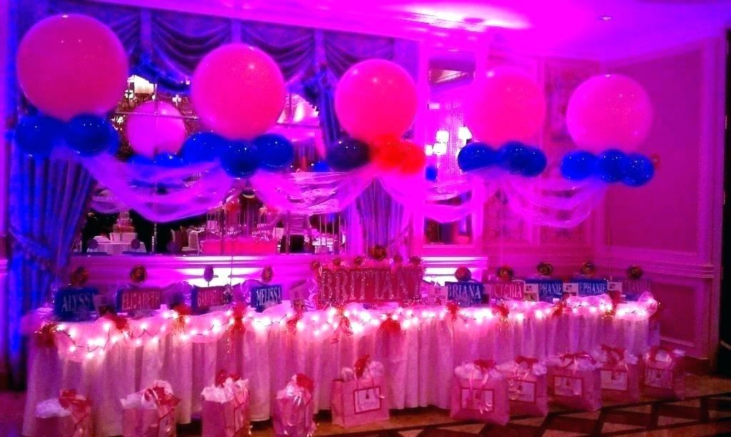 sweet 16 centerpiece ideas decorations party pinterest candy balloon  centerpieces