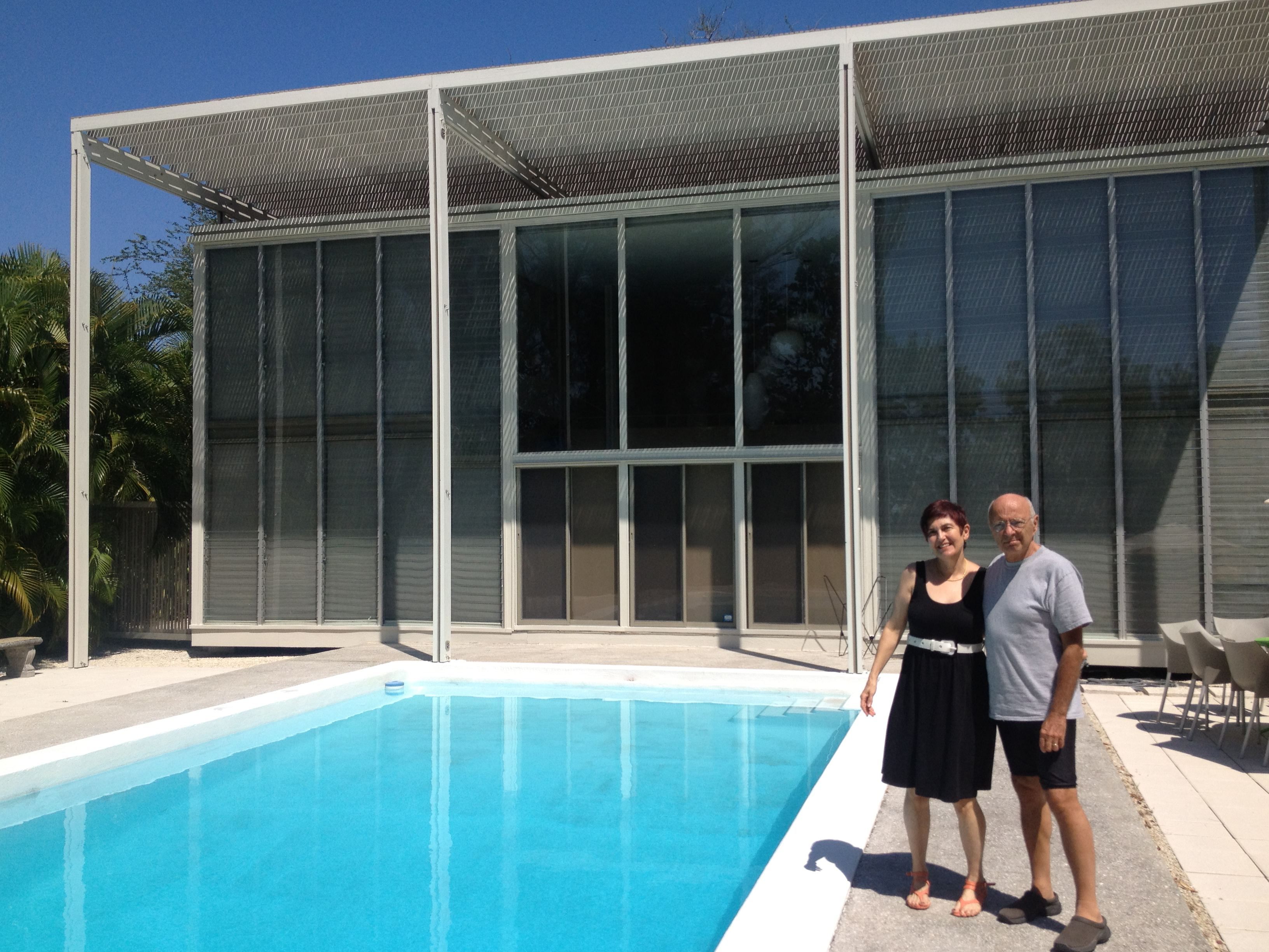 Architect Paul Rudolph's internationally acclaimed Umbrella House