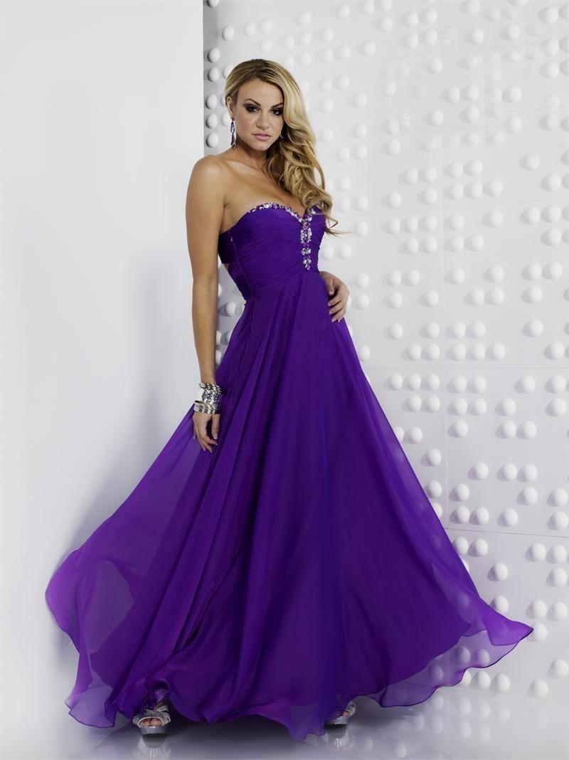Purple Bridesmaid Dress BNNAK0149