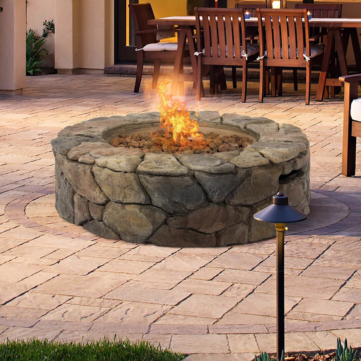 More ideas below: DIY Square Round cinder block fire pit How To Make Ideas  Simple Easy Backyards cinder block fire pit grill Small Painted cinder  block fire