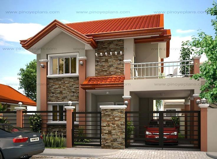 Full Size of 1 Story Small House Designs Home Plans Modern 2 Two Floor And A