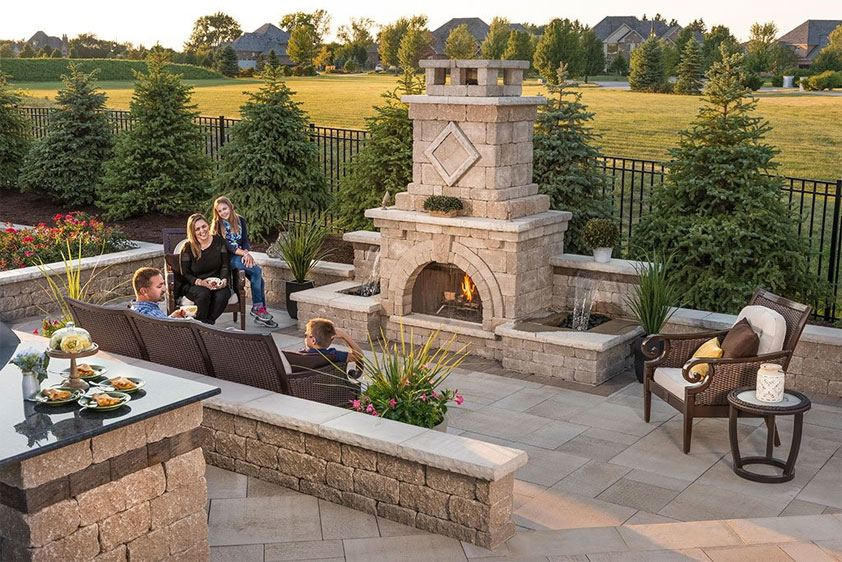 Fresh Outside Fireplace Designs Or Outside Fireplace Ideas Outdoor Patio Fireplace Ideas Outdoor Fireplace Design Idea Backyard Fireplace Designs Photo Of