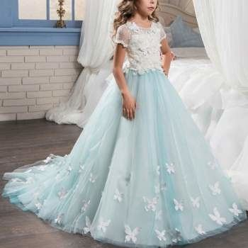 The Valentina Gown is a romantic ball gown
