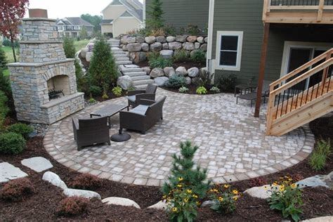 Full Size of Patio:40 Contemporary Walkout Basement Patio Ideas Elegant Walkout Basement Patio New