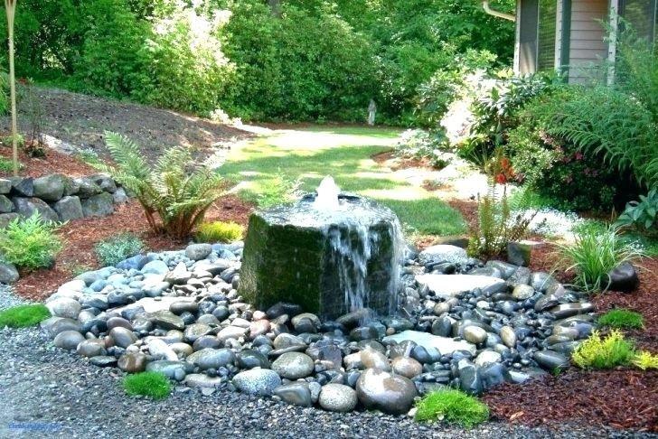 small backyard water
