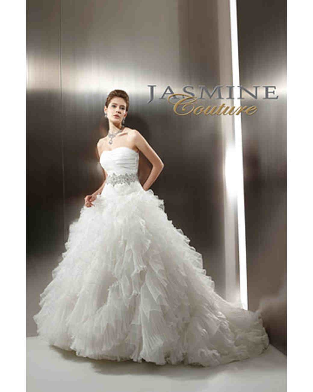 Jasmine Haute Couture Silk Wedding Dress
