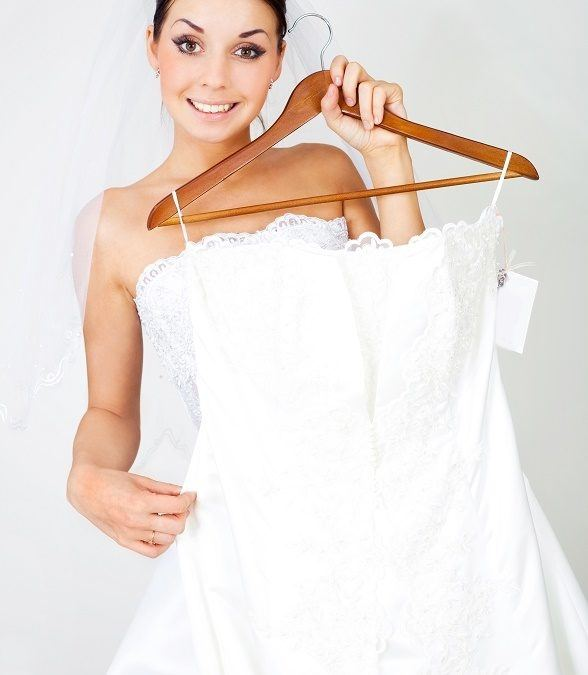 Some gowns have ornamentation which may be glued