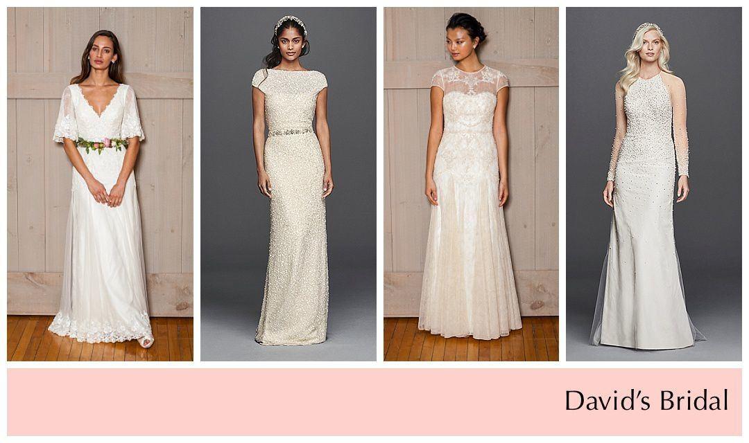 The showroom is full of modern bohemian dresses,