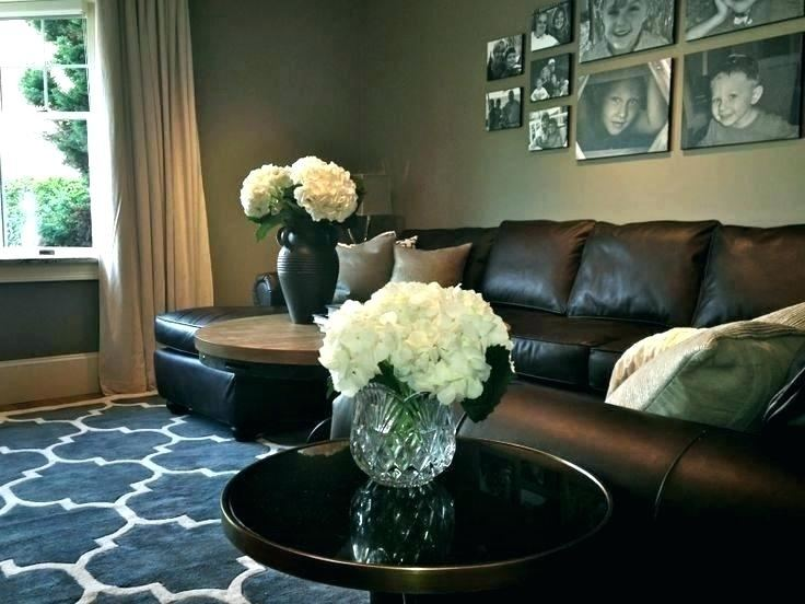 living room ideas with leather furniture brown leather sofa decorating ideas  stylish leather sofa living room